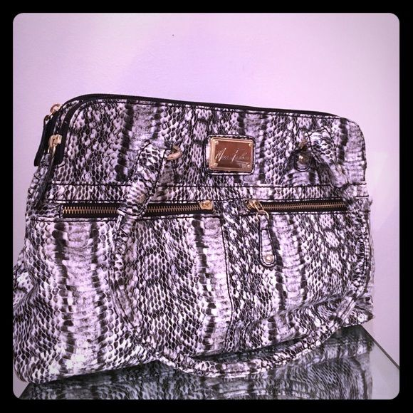 Hp 2 27 Marc Fisher Snake Round Handle Satchel Boutique