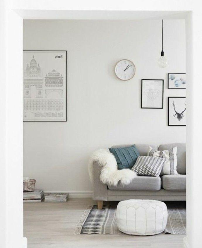 nice Déco Salon - sublime idee deco salon style scandinave, couleur