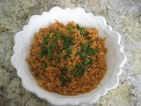 -- TheArmenianKitchen.com -- Everything about Armenian food: Bulgur Pilaf with Onions and Tomato Juice