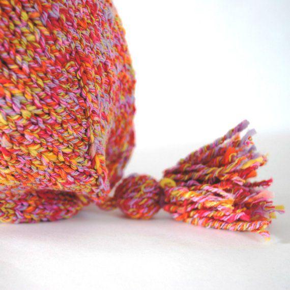 Pretty mottled yarn.