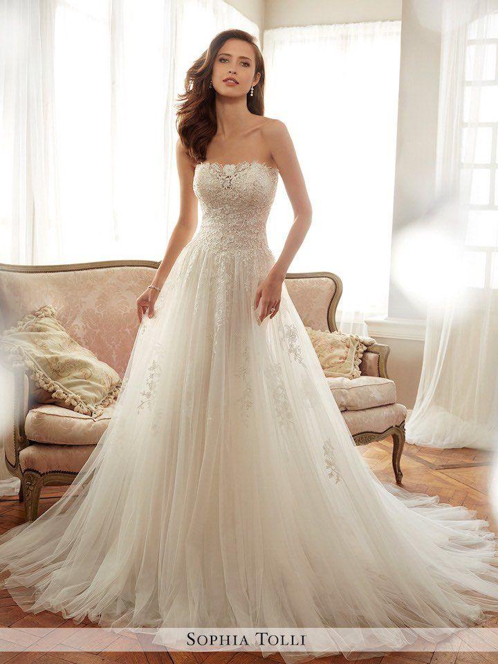 Spring 2017 Sophia Tolli Wedding Dresses Modwedding