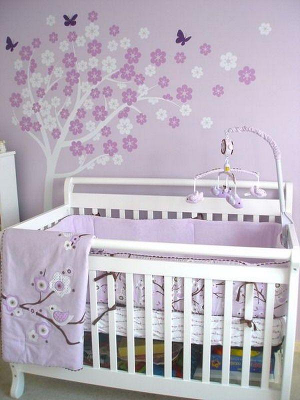Purple Baby Nursery