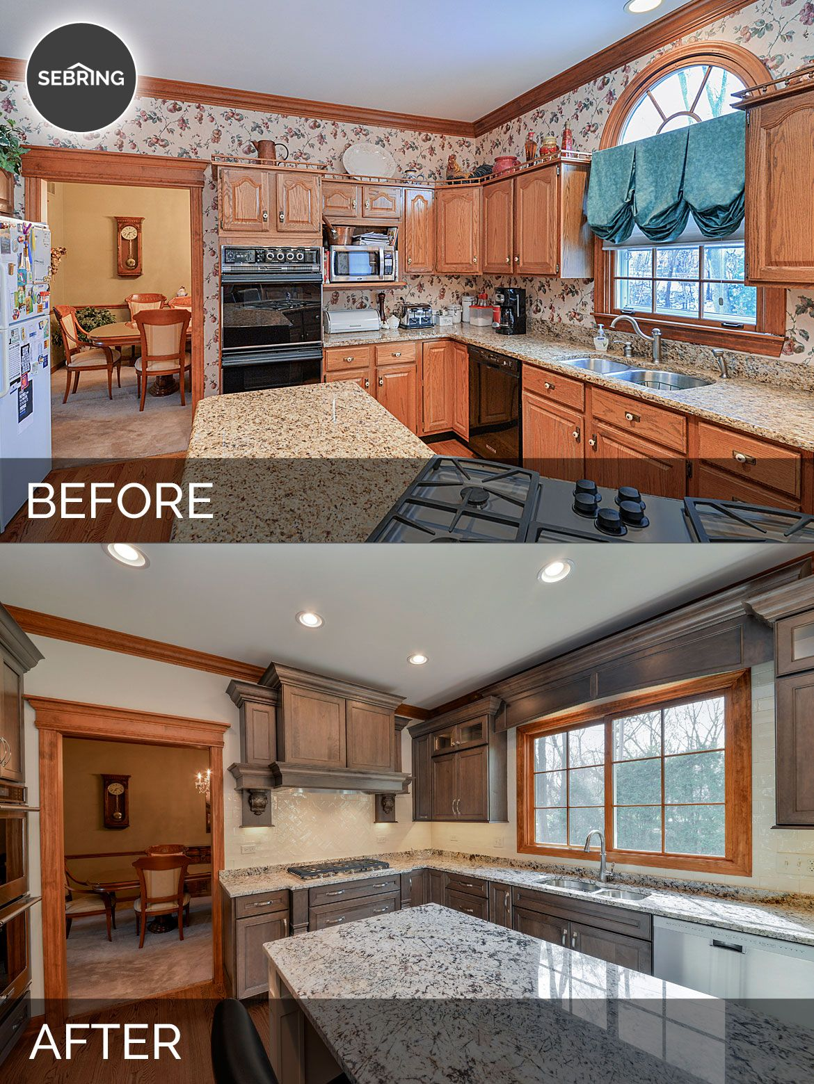 Before and After Kitchen Remodeling Naperville - Sebring Services ...