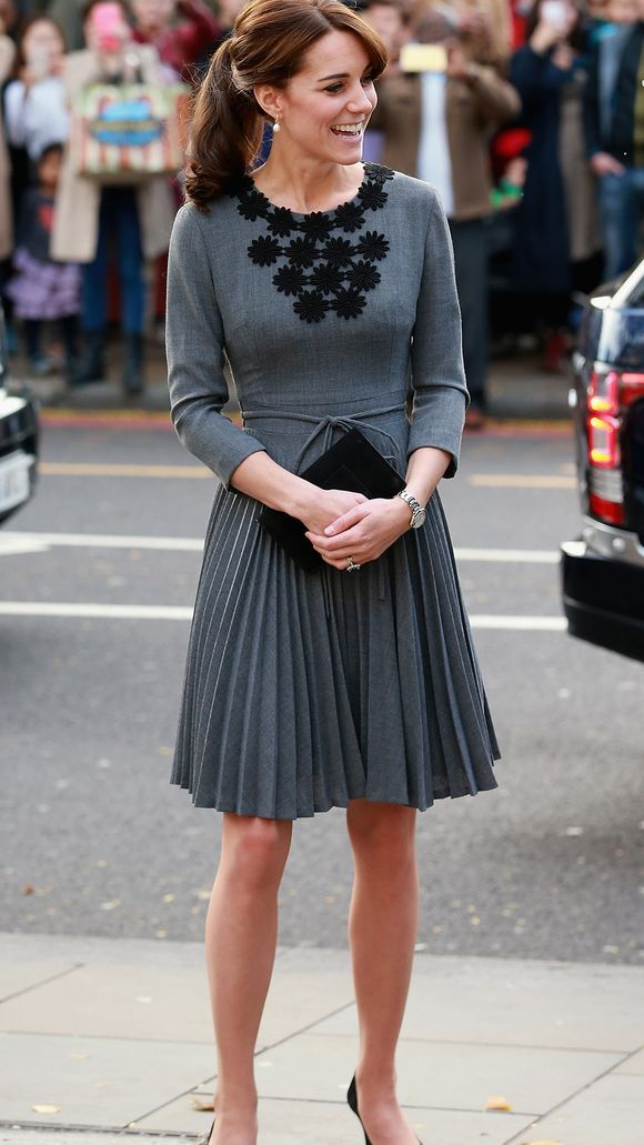 Duchess Kate back to looking elegant; fashion mishap ...