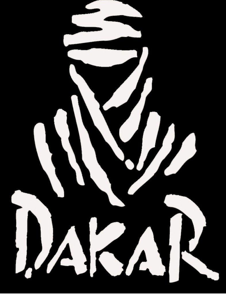 Dakar rally logo black