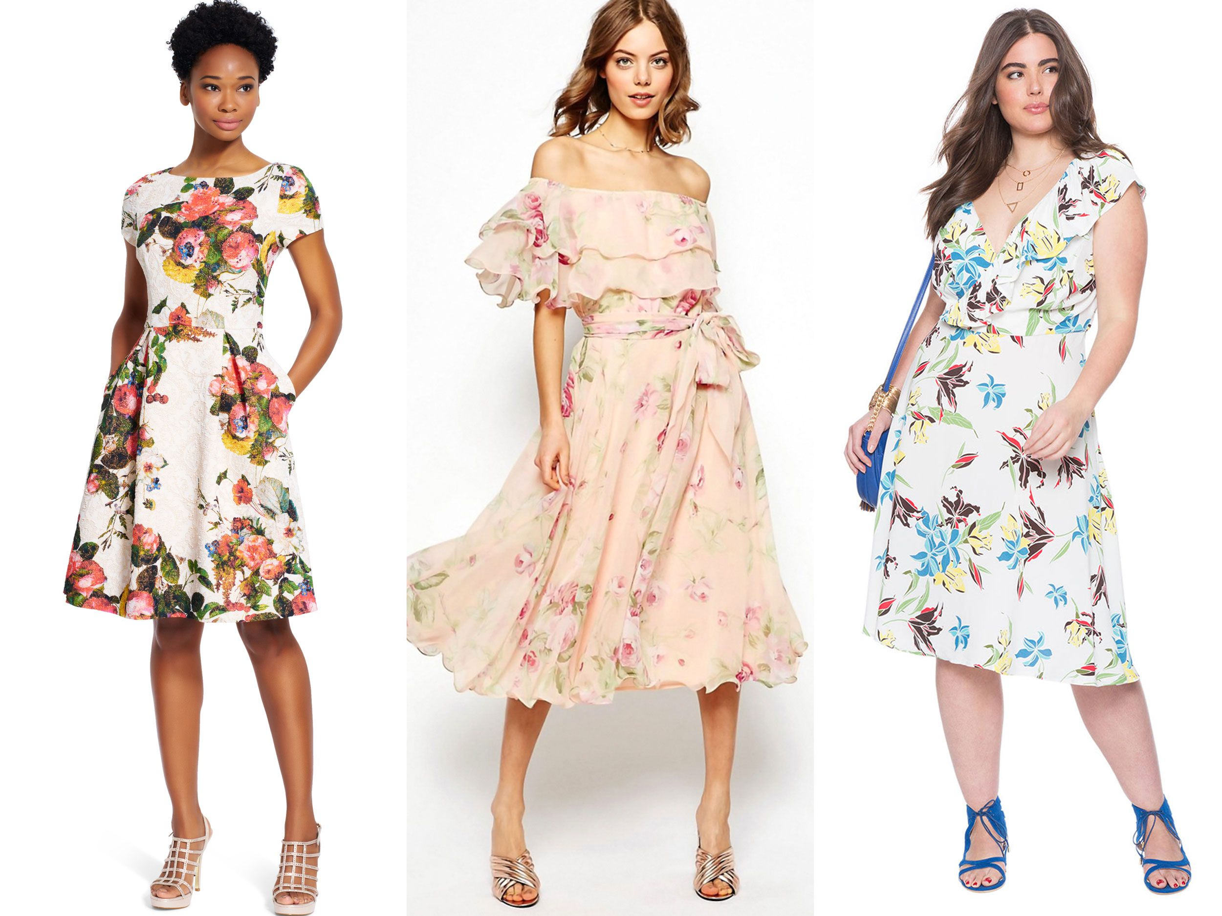 Guest Attire: 15 Floral Dresses Perfect For Summer