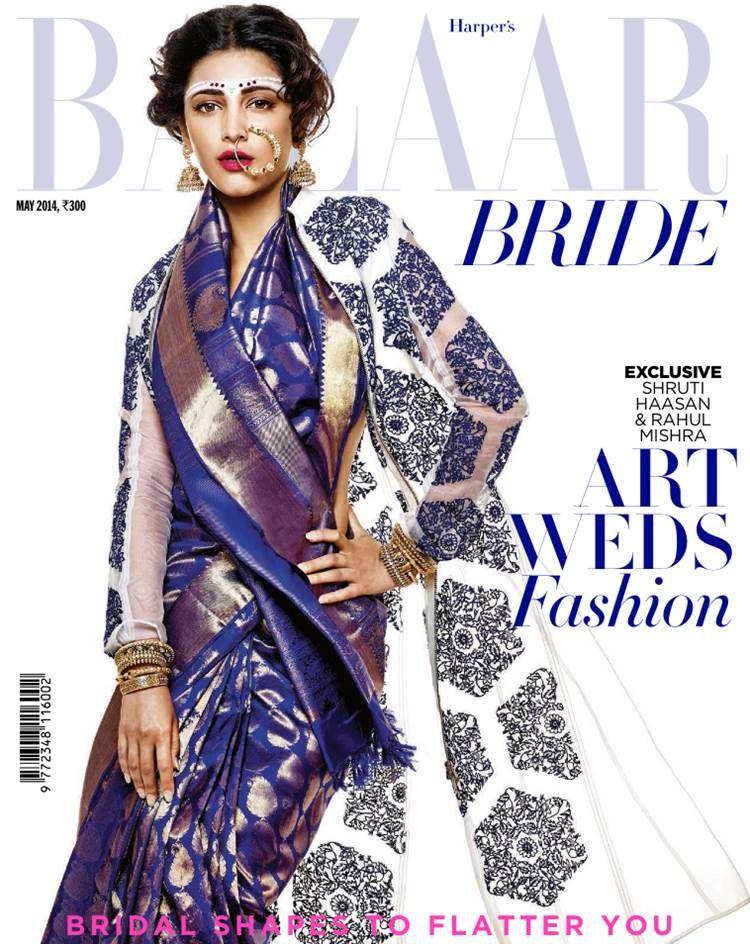 Indian Bridal New Shapes - Harper's Bazaar : Fashion, Beauty