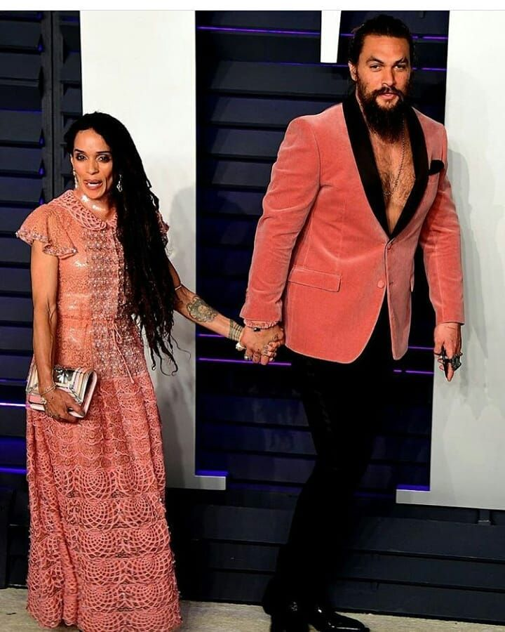 Jason Momoa And Lisa Bonet-@ The Vanity Fair Oscar After