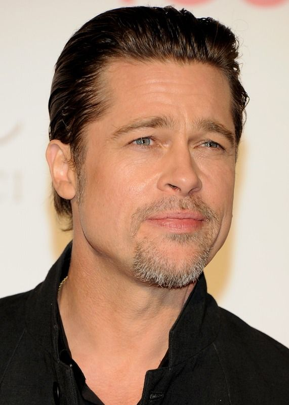 Why Did Brad Pitt Dye His Hair It Wasn T Because He Wanted To Jump On The Silver Hair Trend Brad Pitt Hair Mens Facial Hair Styles Brad Pitt