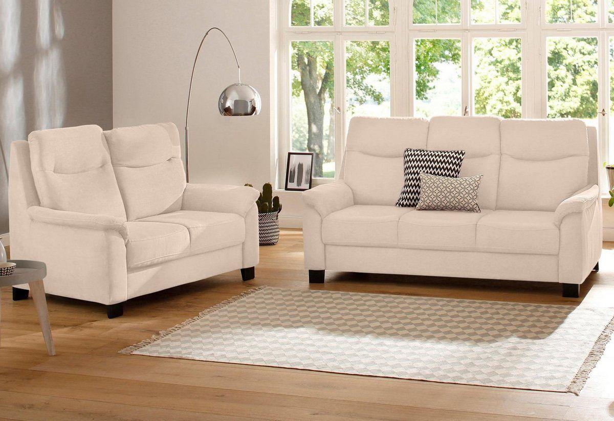 Home Affaire Sitzgruppe Bocca Mit Federkern Incl Kopfteilverstellung Online Kaufen Haus Sofas 3 Sitzer Sofa