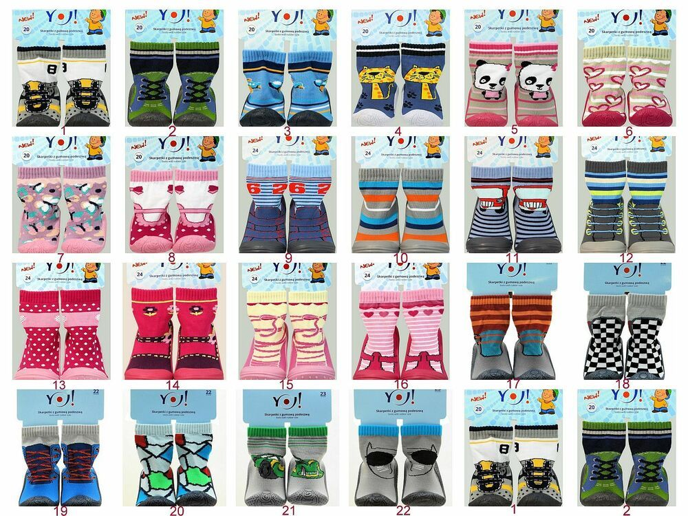 Baby Socken mit Gummisohle Fliesenflitzer Hüttenschuhe Hausschuhe Krabbelschuh