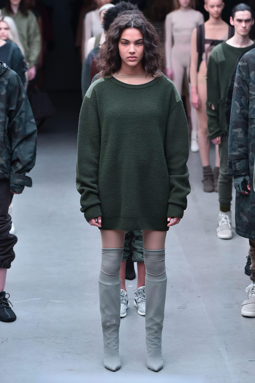 Kanye West x Adidas Originals Fall 2015 Collection at New York Fashion Week fa53631d97