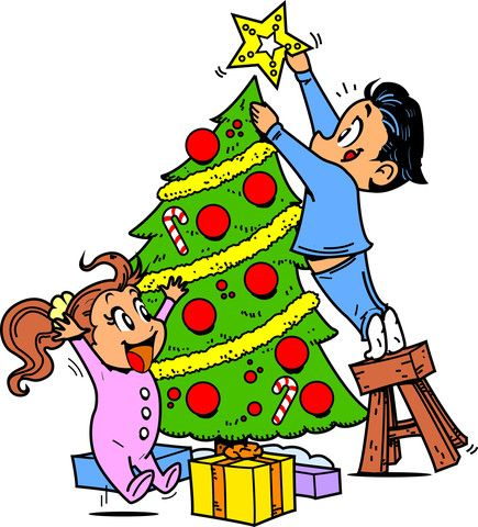 A short Christmas story to practice the English semimodal verbs