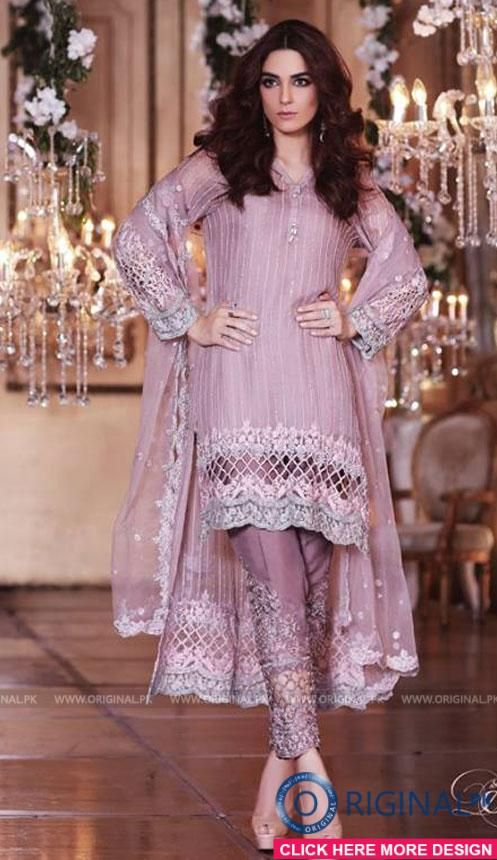 30a9cd1850 Maria B BD04 Mbroidered Eid Luxury Collection 2017 1 | Things in ...