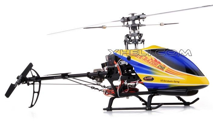 Dynam E-Razor 250-Pro RC Helicopter w/ CNC Upgraded Rotor Head ... on