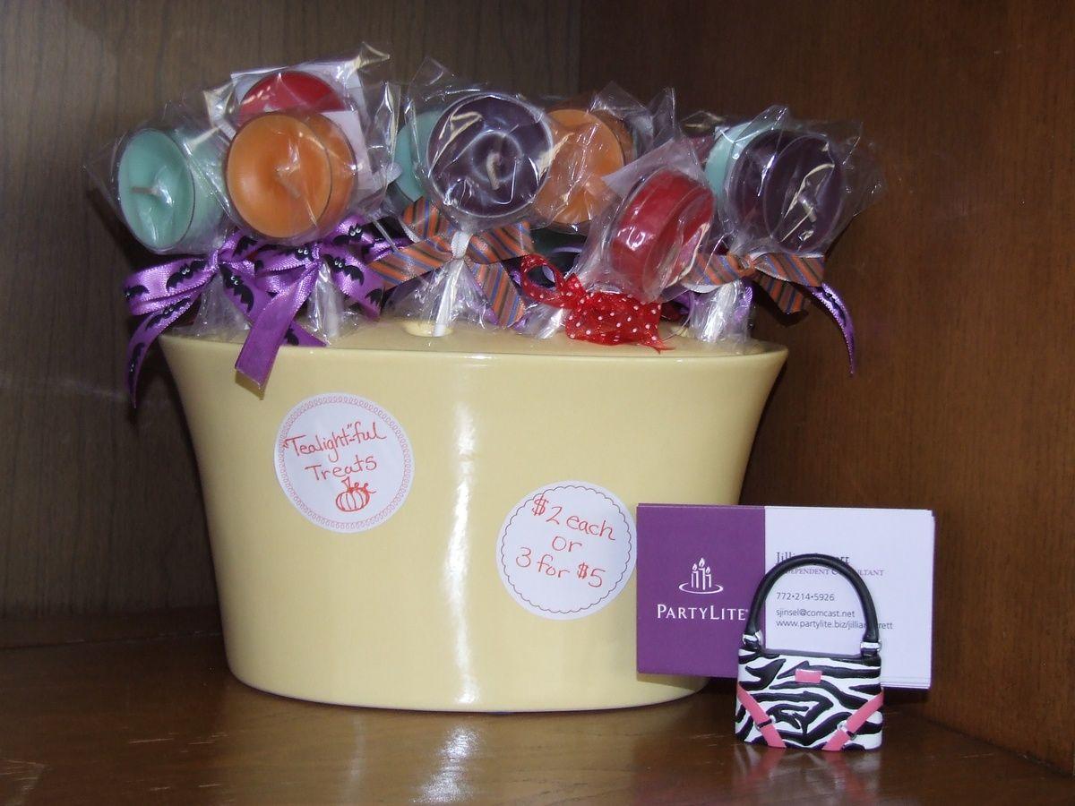 PartyLite Tealight Lollipops