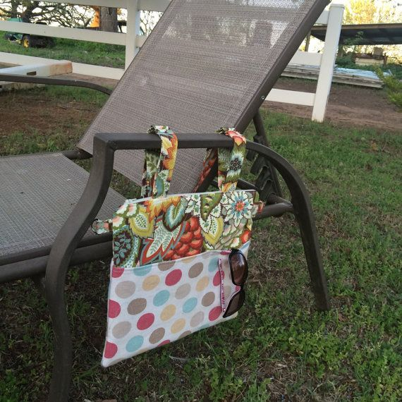 Beach Chair Or Pool Caddy Organizer