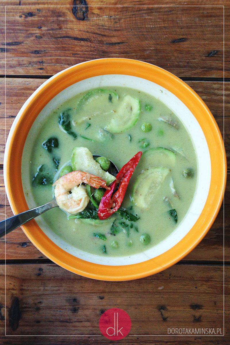 Zielone Curry Tajskie