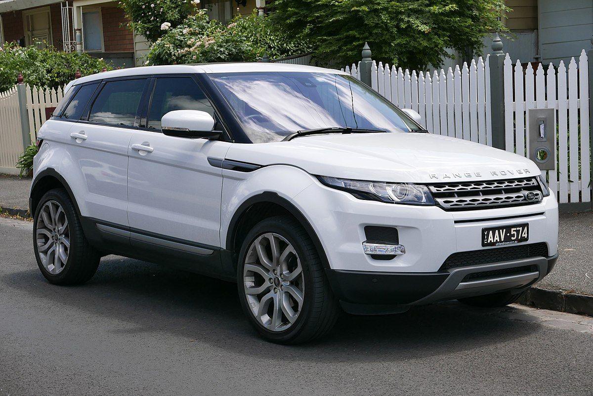 Range Rover Evoque Wikipedia Land Rover All Models Pinterest