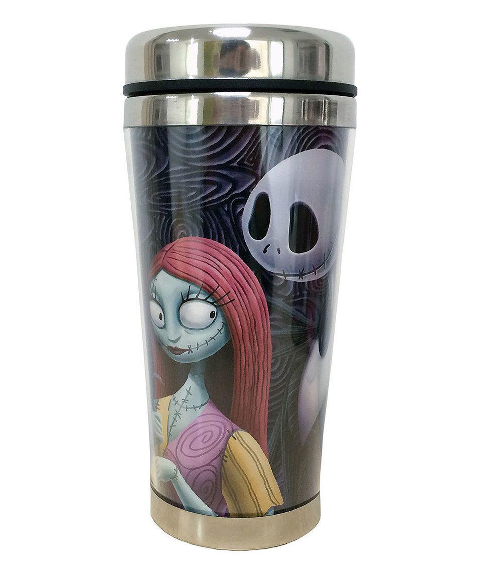 16 oz \'Jack and Sally\' Travel Mug by The Nightmare Before Christmas ...