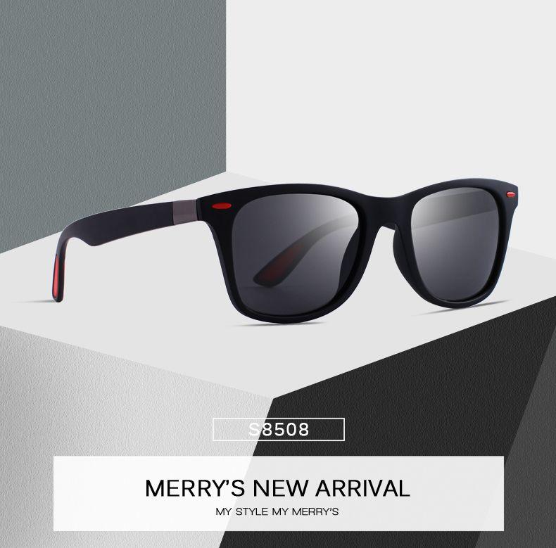 9de868cb3c32 Men Women Classic Retro Rivet Polarized Sunglasses Square Frame UV  Protection S8