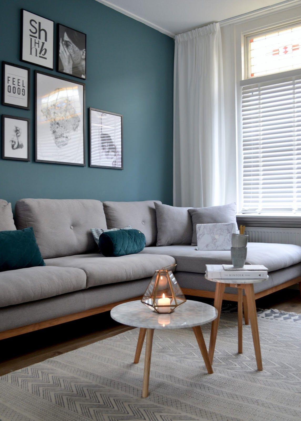 White Stone Marmeren Bijzettafel S Accent Walls In 2019 Living Room Remodel Living Room