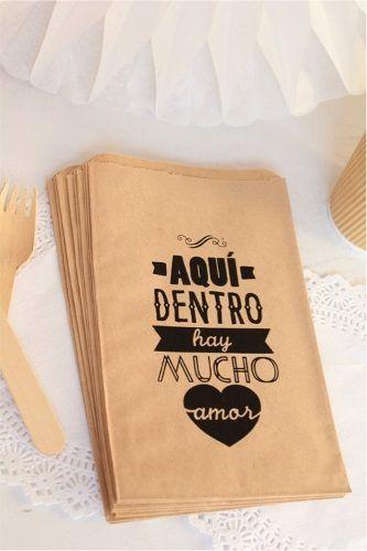 3a9907c09 20 bolsas de papel kraft bodas eventos mesas de dulces | Sublimado ...
