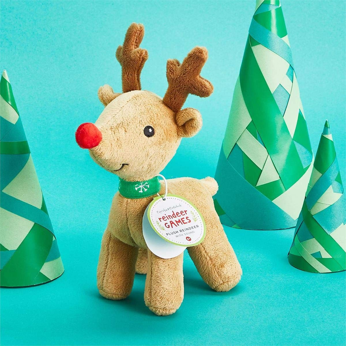 Light up plush reindeer with sound 3+