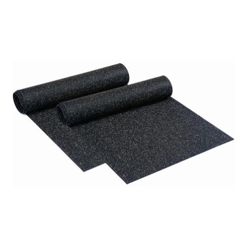 Rubber Roll Floor 1/4 Inch Black Gym Flooring Rolled