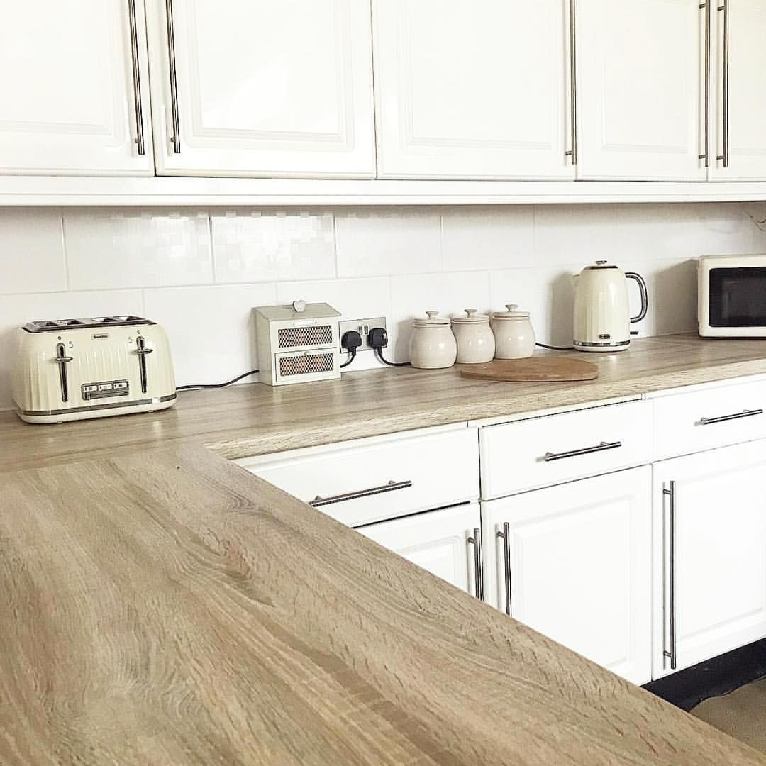 Stunning Benchtop Makeover Using Sonama Oak Truffle By
