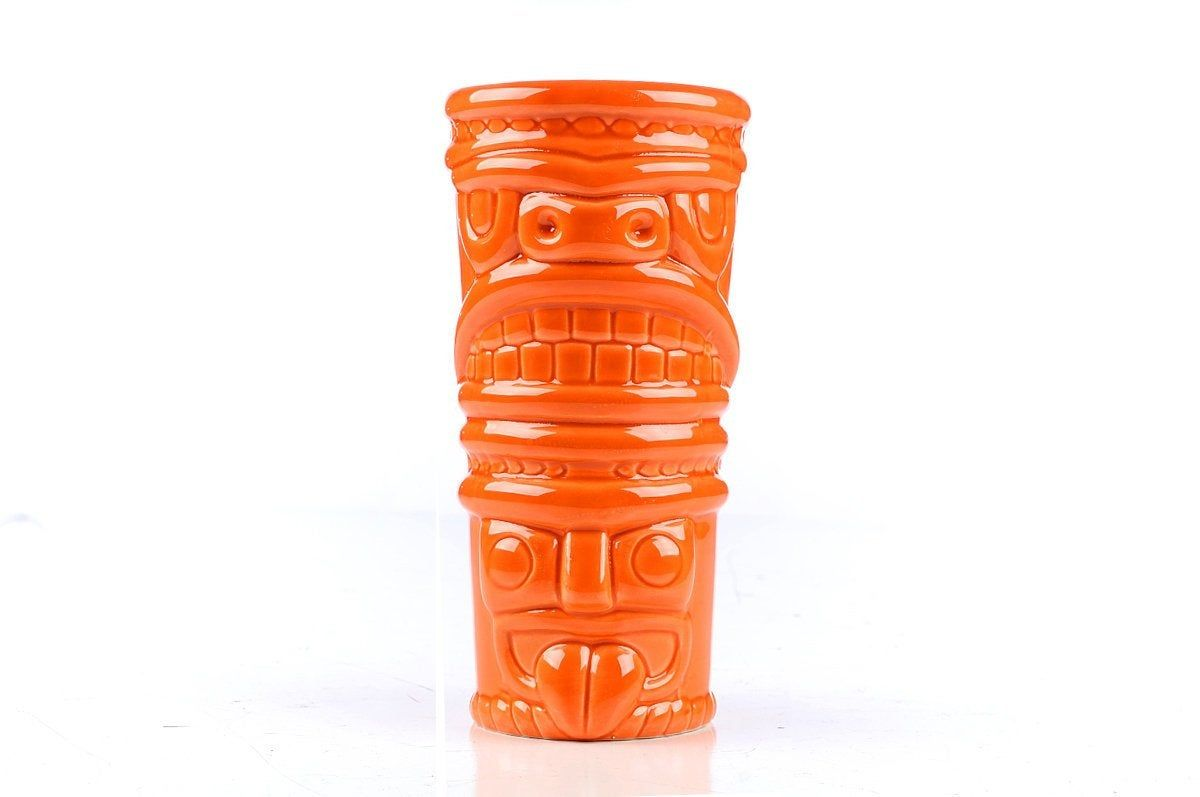 TIKI Cup Mug Tumbler Vintage Hawaiian Luau barware Pool Party Beach House Florida Key West Barware Liquor Bar 12 #hawaiianluauparty