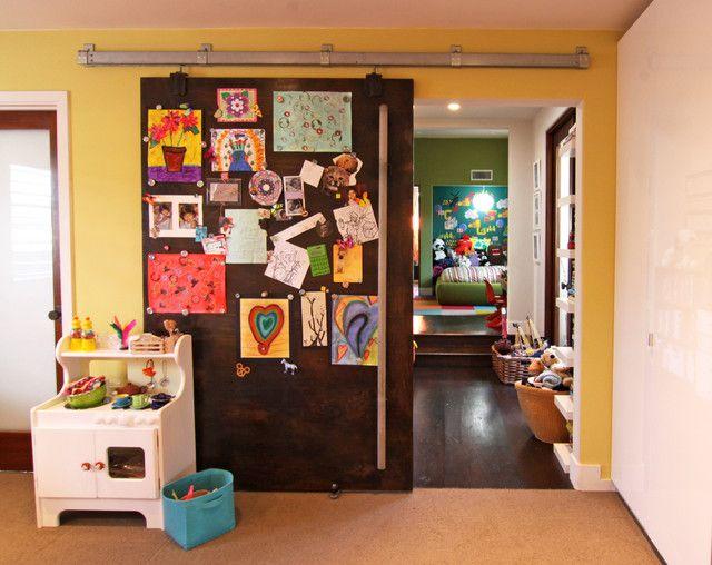 Cool Magnetic Sliding Door Art Room Doors Bedroom Door Design Room Door Design