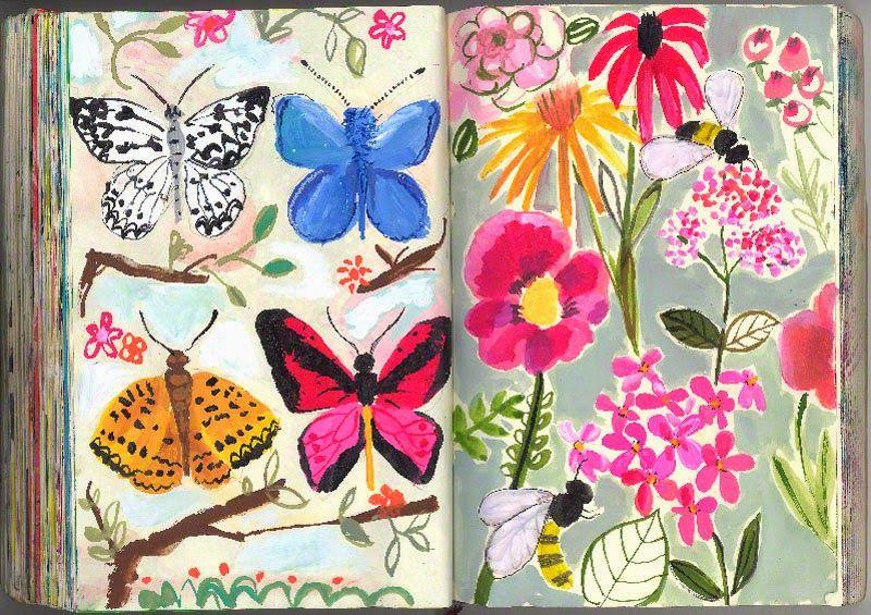 Las Libretas De Dibujo De 10 Artistas Colombianos: Los Nuevos Ilustradores Usan Libretas. Una Selección De