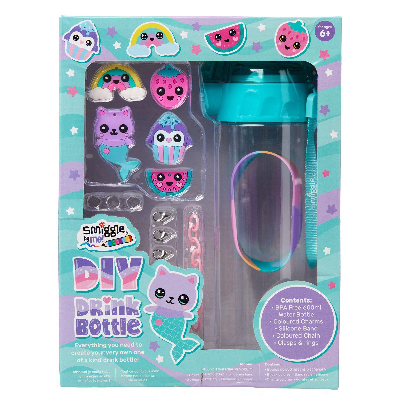Diy Drink Bottle Kit Teal Smiggle Online Diy drinks