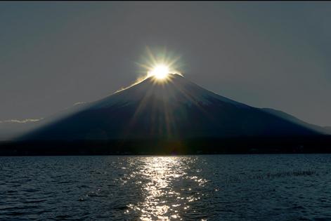 Mount Fuji japan At Sunset