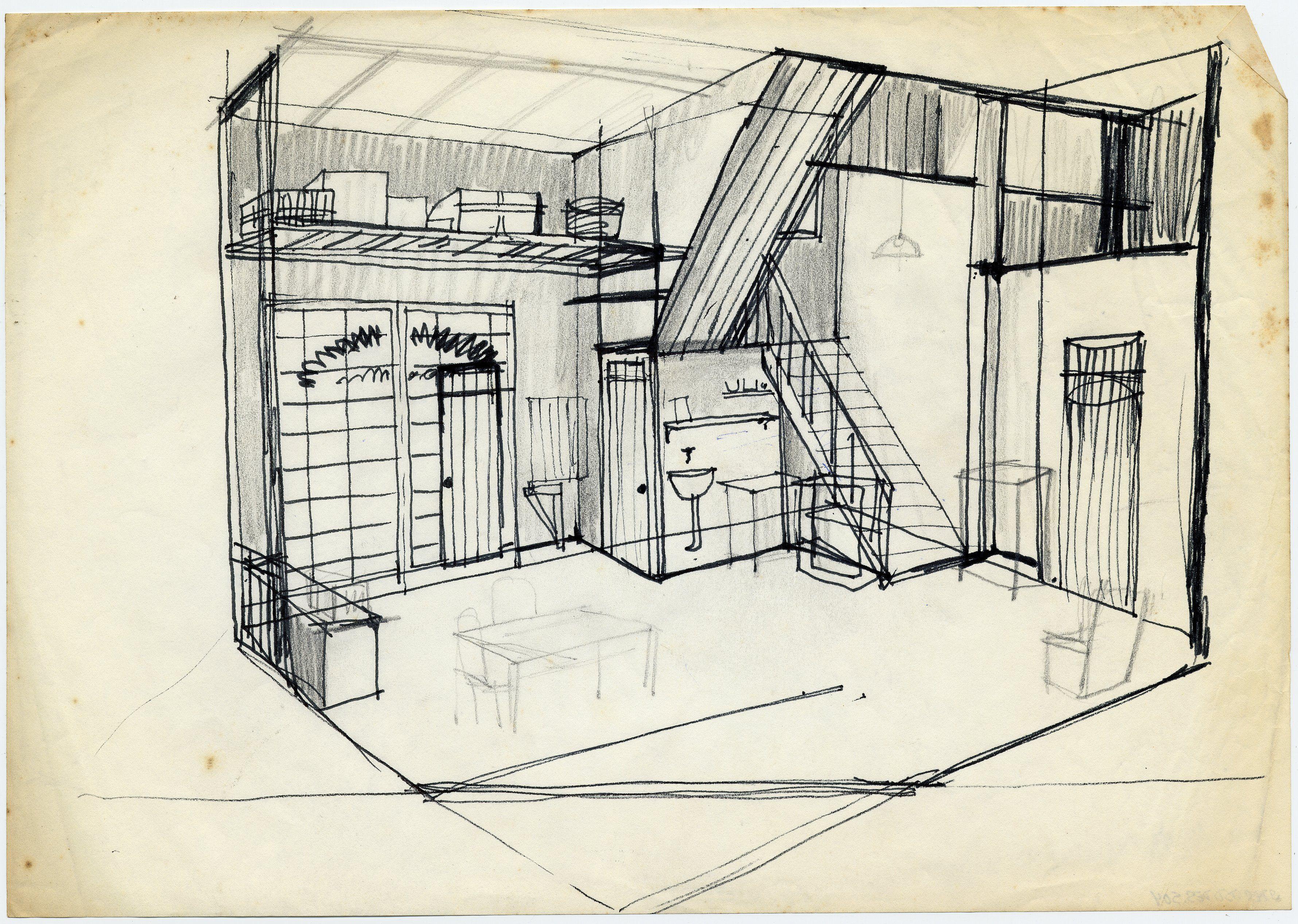 Resultado De Imaxes Para Robert Wilson Drawing Set Design