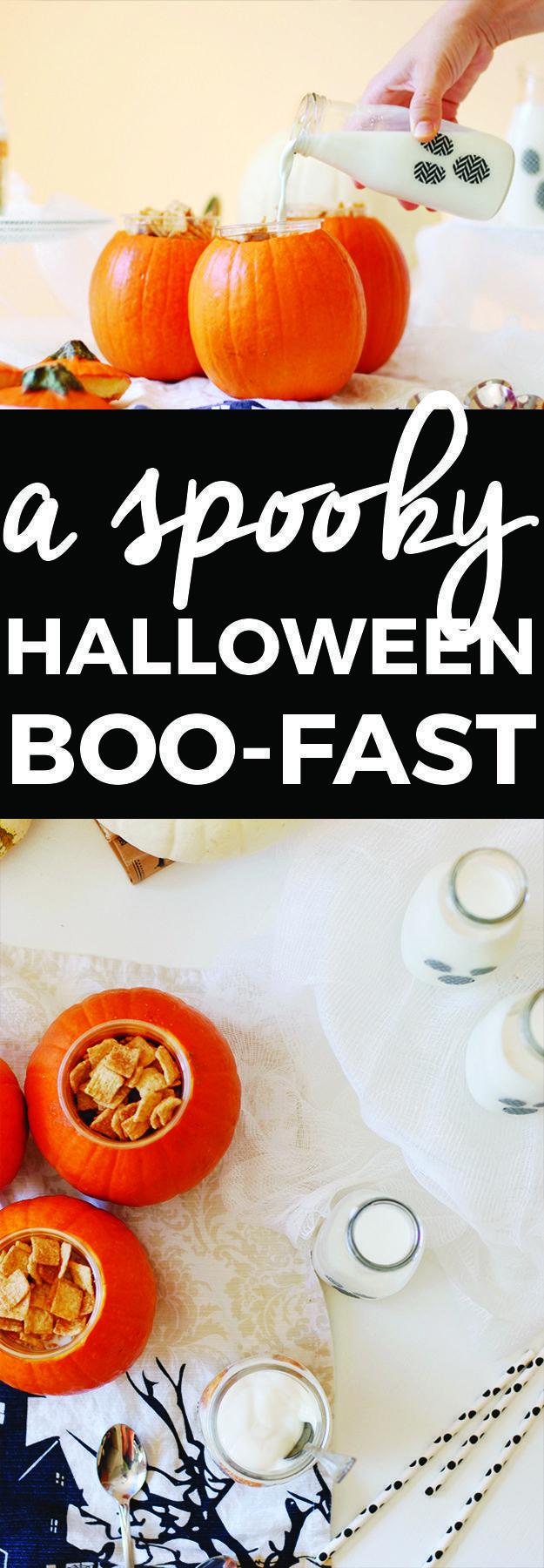 Make A Spooky Halloween Boo-fast #halloweenbreakfastforkids