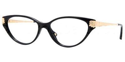 Versace VE3166B Eyeglasses-GB1 Shiny Black-51mm