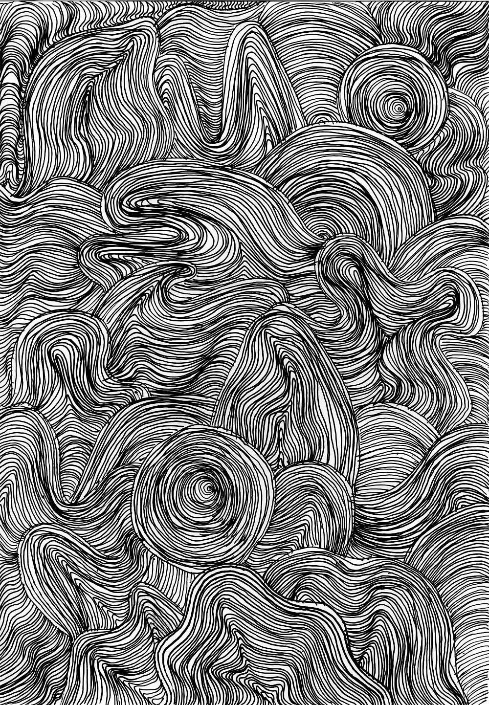 Muster Zeichnen Meditativ Oder Einfach Nur Langweilig