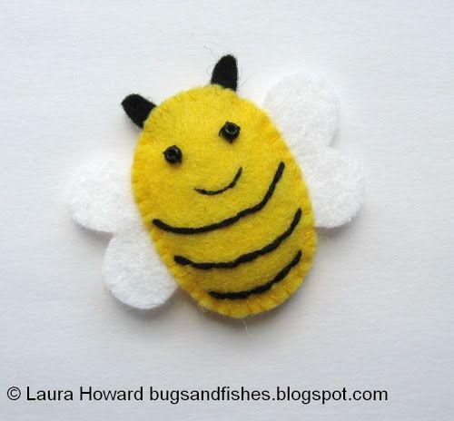 Bugs And Fishes By Lupin: How To: Make A Mini Felt