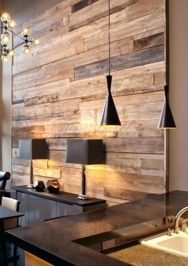 Palettenwand: 60 Projekte, die das Stück als Beschichtung nutzen - Neu dekoration stile #holzdekoration