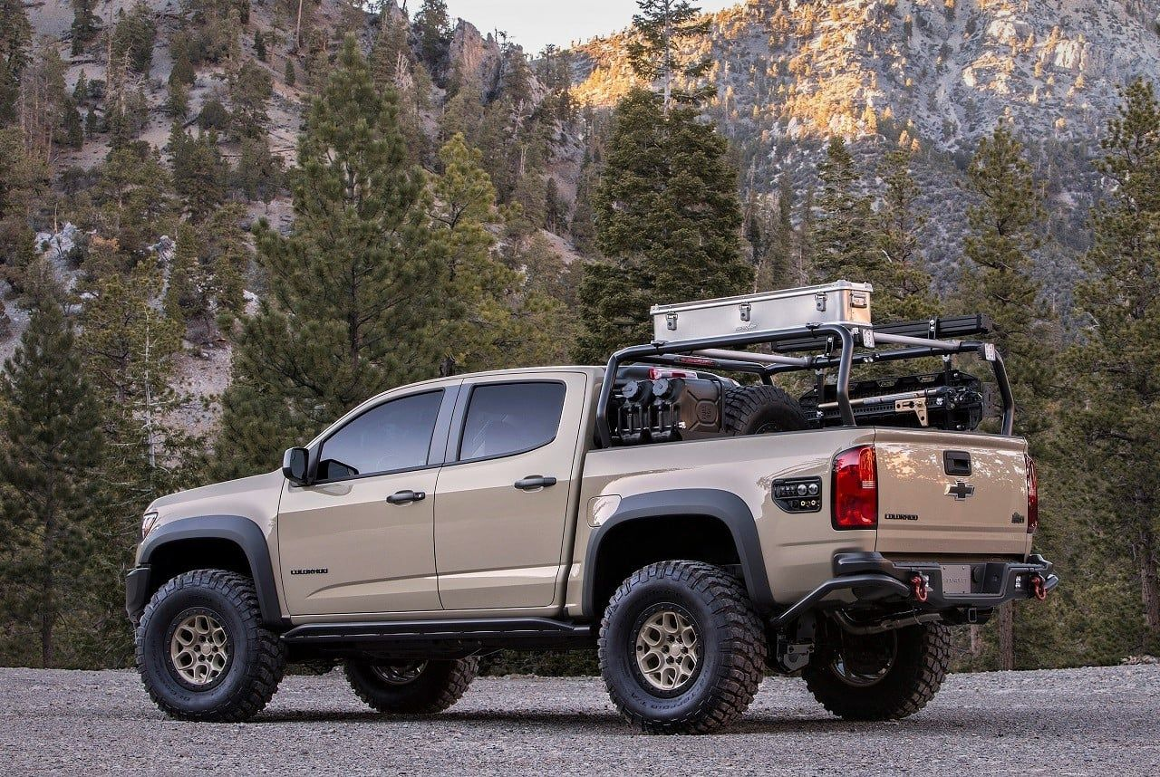 Chevy Colorado Zr2 Aev Concept Chevy Colorado Chevrolet