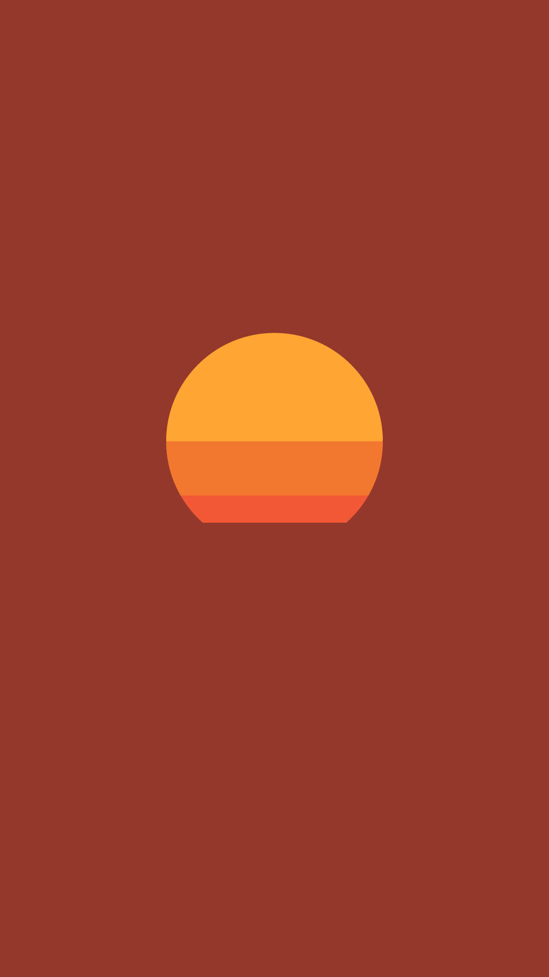 Minimalist Black Orange Phone Wallpaper · Artistic Desktop ...