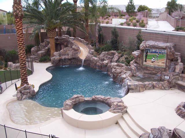Extreme Pools Photo Gallery Pool Photos Pool Backyard Pool Designs