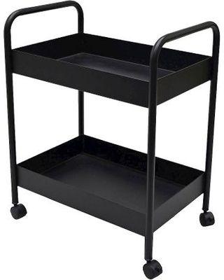 Room Essentials Storage Cart: Room Essentials Metal Bar Cart   Black From  Target