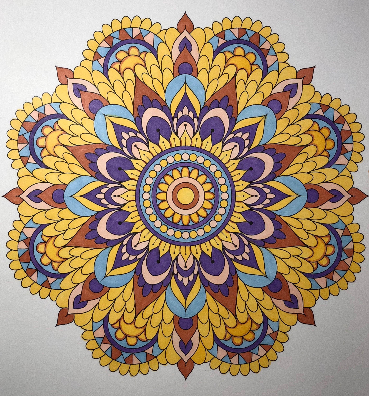 27 Finished Mandalas in Color ideas  mandala coloring, mandala