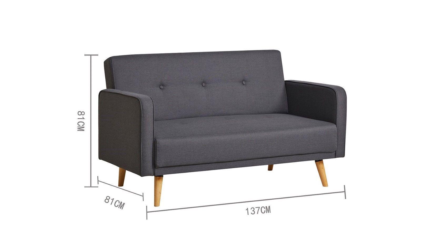 Ramona Contemporary Compact Sofa Charcoal Exdisplay Ebay Sofa Bed Design Scandinavian Sofa Design Compact Sofas
