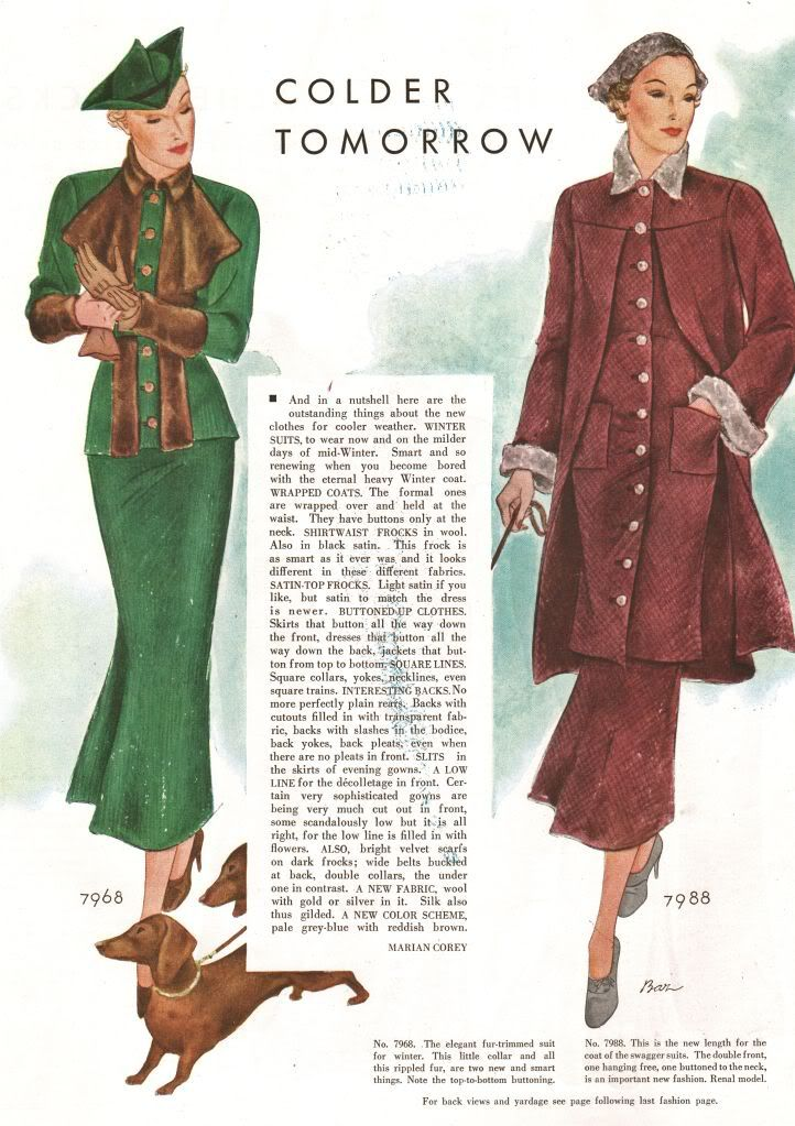 what-i-found: Style and Beauty - McCall's 1934