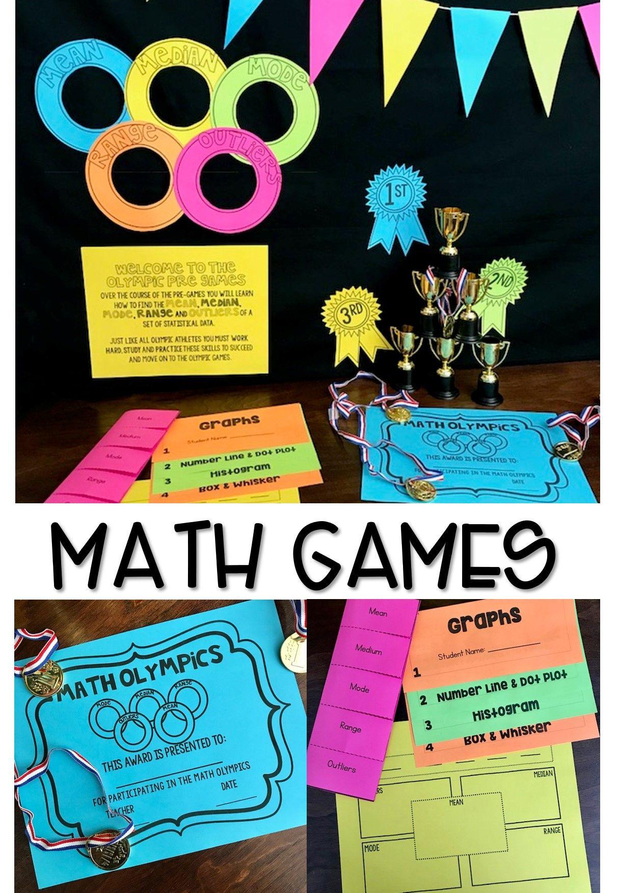 Math Games Mean Median Range Outliers Amp Graphs