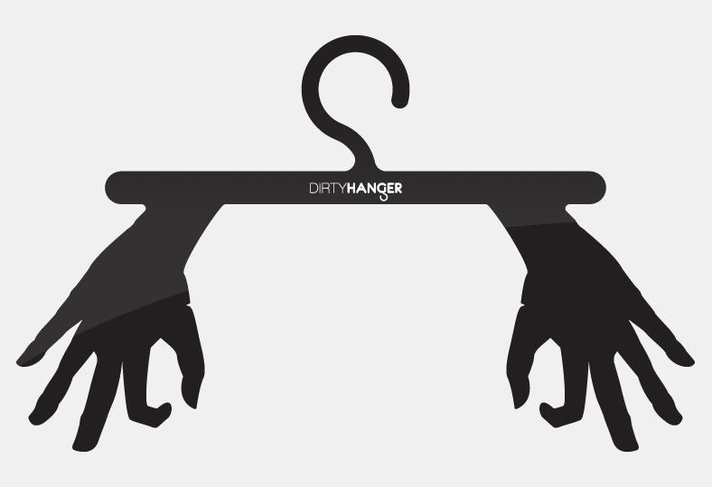 Dirty Hanger - Throwing an innovative spin on hanging your clothes! Pure Dutch Design by Roi de Bruijn